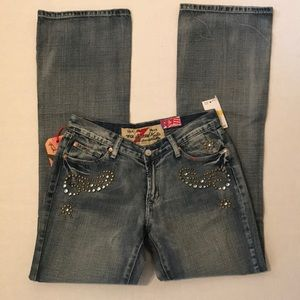 NWT 7 For All Mankind Embellished Jeans